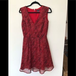 French Connection Red Dress